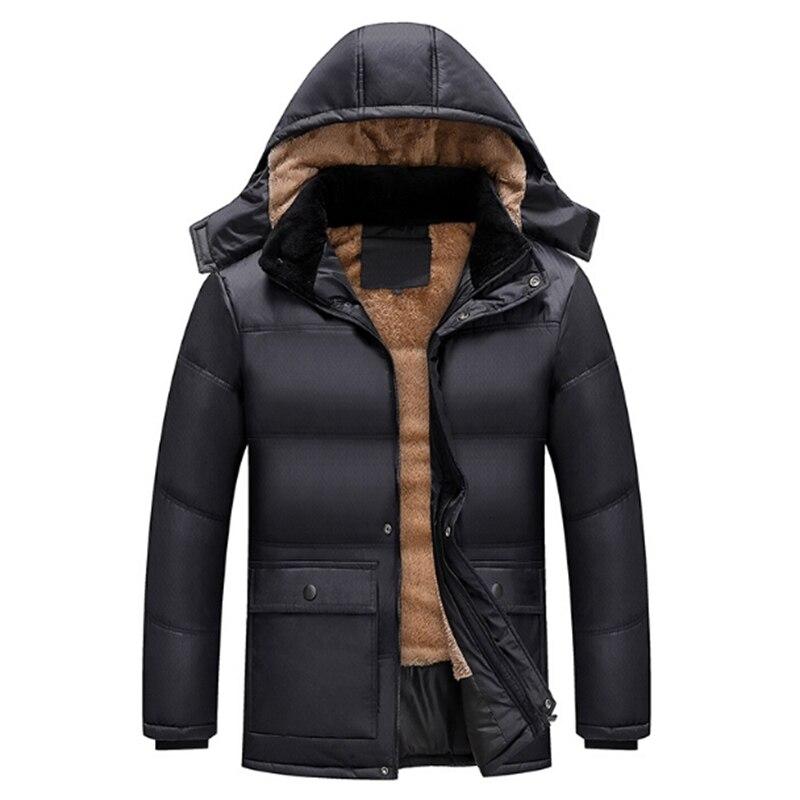 Зима, хлопок и одежда на Хлопчатобумажной Подкладке, мужчины и пожилых людей, теплая хлопковая стеганая одежда, длинные одежда из хлопка, па...