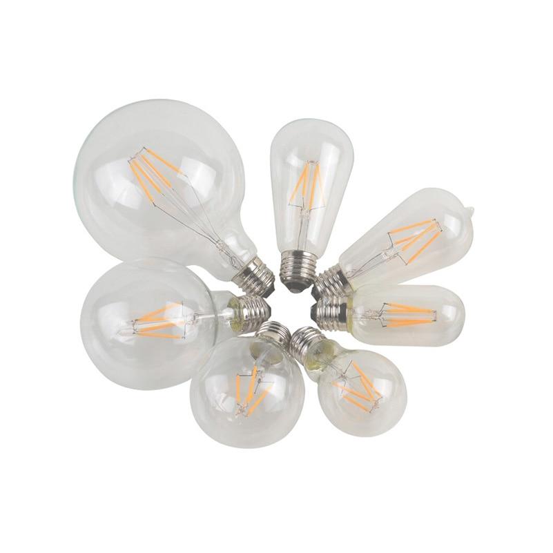 Special Wholesale Promotion Item Fashional LED Edison Bulb E27/110v/220V  2W/4W/6W/8W ST64/G80/A19/T300/ LED Bulb(PD-45)