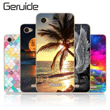 Geruide ZTE Blade A601 5.0 Case Cover, Printed Soft TPU Back Cover Silicon For A 601