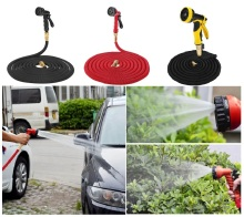 25FT-100FT Flexible Garden Hose Expandable Water Hose Pipe Watering Spray Gun Car Washing Sprinkler Cleaning Sprayer Tools Kits цена