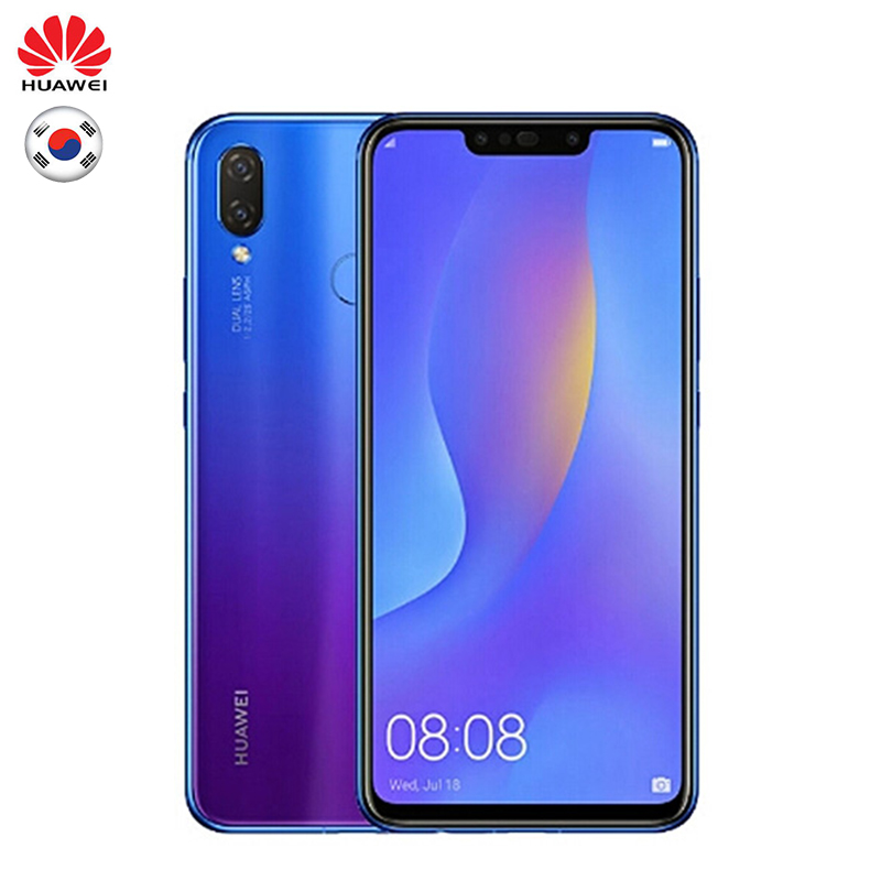 Huawei Nova 3i Version mondiale Firmware en option Smartphone 4G RAM 128G ROM 6.3 pouces Kirin 710 Octa Core Android 8.1 téléphone Mobile