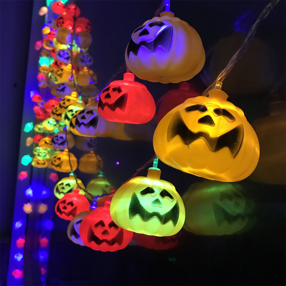 <font><b>led</b></font> lantern A colorful <font><b>pumpkin</b></font> Lantern <font><b>lighting</b></font> flash ghosts eye Carnival Festival offers bright cool <font><b>pumpkin</b></font> party lantern