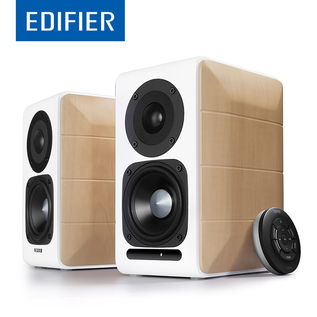 size kanto products bookshelf w bluetooth large speakers matte white powered