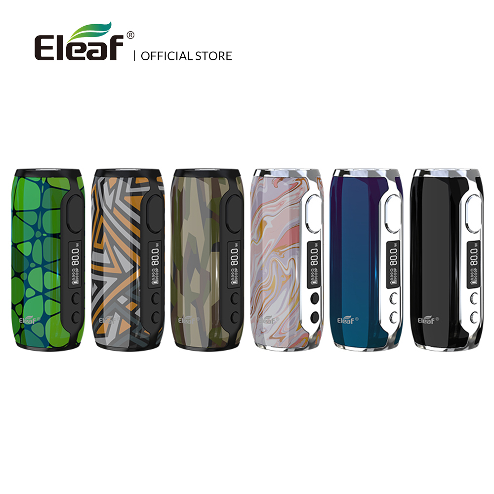 [FR] Original Eleaf Istick Rim Battery With Built In 3000mah Battery Box Mod 80W Wattage Electronic Cigarette
