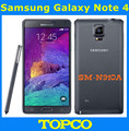 "Samsung galaxy note 4 n910a original desbloqueado 3g y 4g gsm android teléfono móvil quad-core 5.7 ""16mp 32 gb wifi gps"