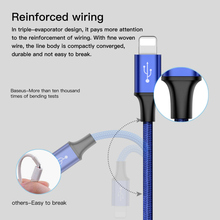 Baseus 2in1 Charging USB Cable For Androids iPhone