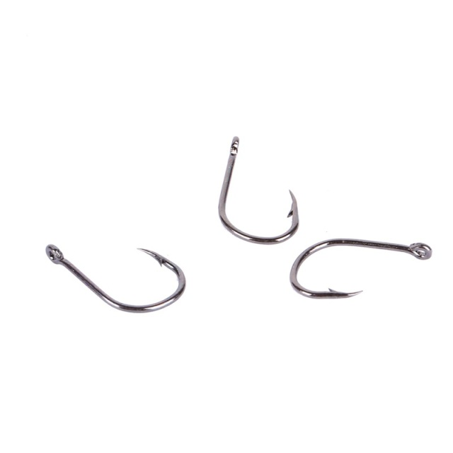 100 Pcs/Box High Carbon Steel Fishhooks barbed Hook  Lake River Ocean Fishing Fishhooks High Efficiency  Barbed Fishing Hooks