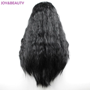 """Image 4 - JOY&BEAUTY 24"""" Long Synthetic High Temperature Fiber Hair Long Curly Wig Black/Brown Mix Women Cosplay Wig"""