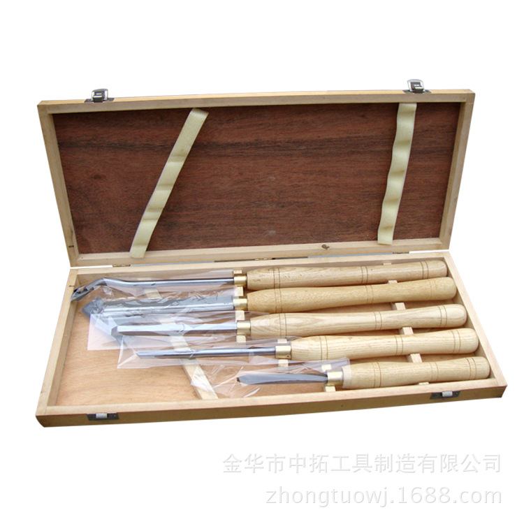 Turning Tools 5 Pieces A Set of Wood Box HSS High Speed Steel Tool Blade three hands box set of 3 wood dice white
