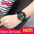 2017 New Arrivals Top Marca OTS Cool Black Mens Moda Rosto Grande Homem Sports Relógios LED Digital Natação Escalada Ao Ar Livre