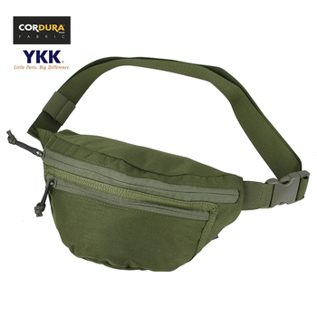 TMC Cordura Tactical Compact 2X Fanny Pack Men Waist Bag Pack OD WG(SKU051039) фото