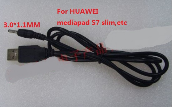 S7 Slim,s7-301u,s7-301w S7-301c 2pc 12v 9v 5v 2a Usb Male To 3.0x1.1mm Lead Charger Power Cable For Hua-wei Mediapad 7 Ideos S7 Consumer Electronics