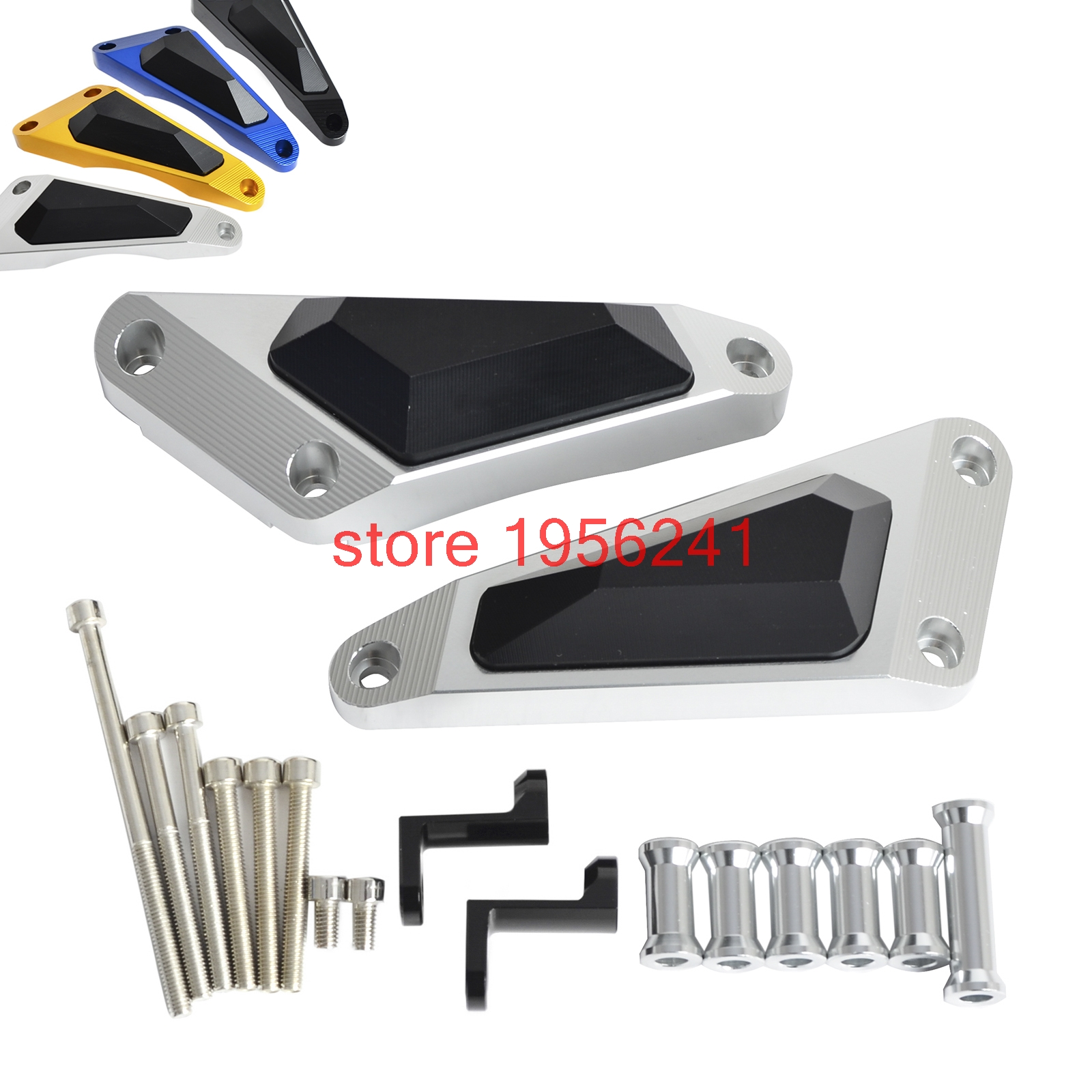 Motorcycle Engine Frame Slider Stator Case Guard Cover Protector For Yamaha MT-09 MT09 FZ-09 FZ09 2013 - 2016 2014 2015 for yamaha mt 07 fz 07 mt07 fz07 2014 2016 motorcycle accessories cnc aluminum engine protector guard cover frame slider blue