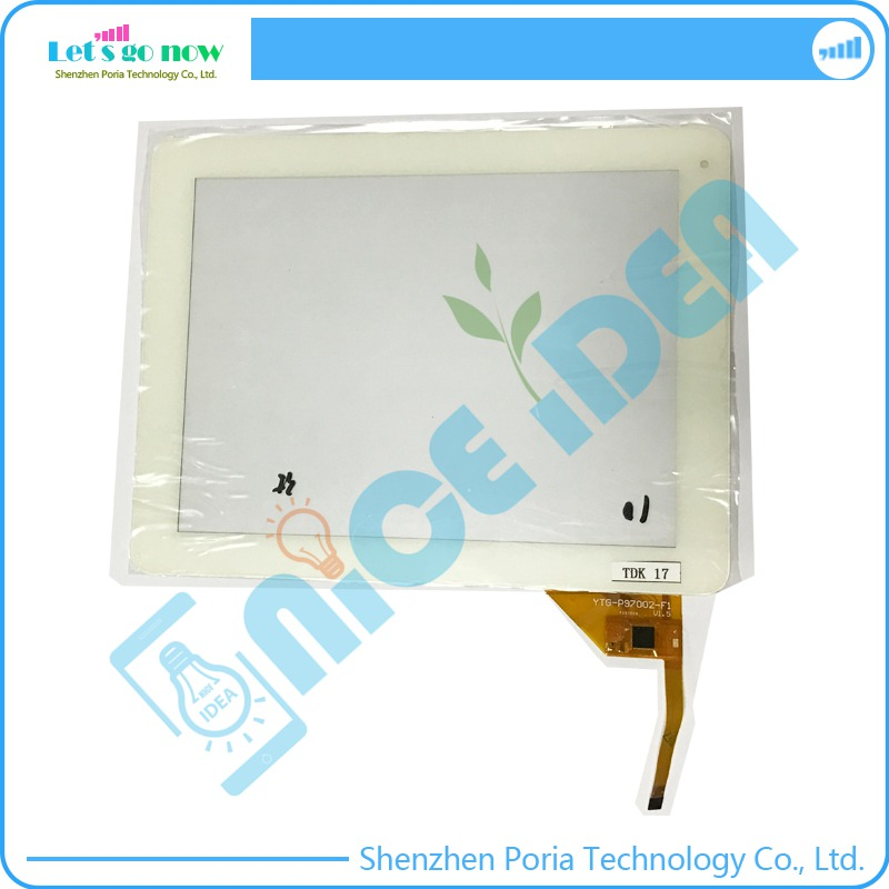 100% New 10'' Inch Touch Screen Digitizer For YTG-P97002-F1 P25700B V1.5 White Front Tablet Touch Panel Glass Replacement