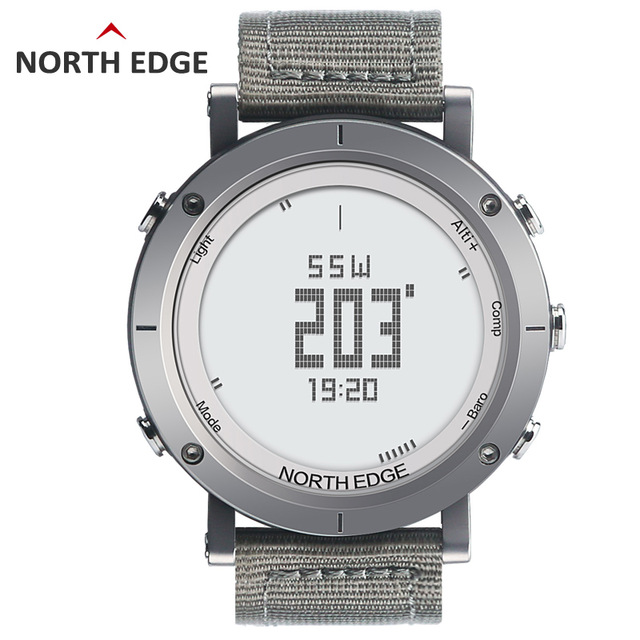 NORTHEDGE digital watches Men sports watch clock fishing Weather Altimeter Barometer Thermometer Compass Altitude hiking hours ezon altimeter barometer thermometer compass weather forecast outdoor fun men digital watches sports climbing hiking hand clock