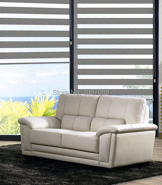 Custom Made 100 Polyester Translucent Roller Zebra Blinds