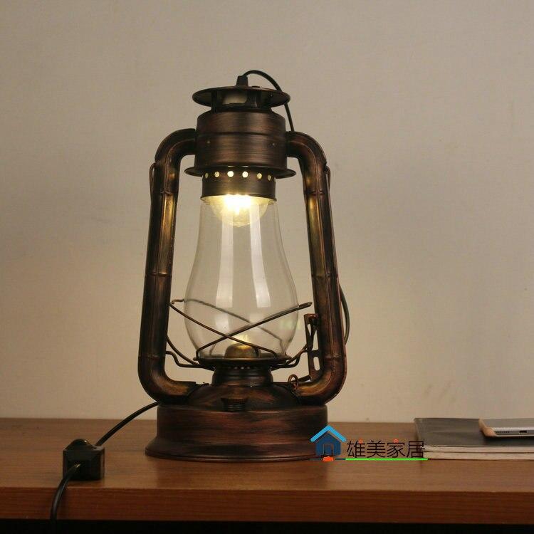 Nordic furnishings kerosene lamp New Lantern Lamp Lamp personalized style retro industrial work lamp decoration GY190