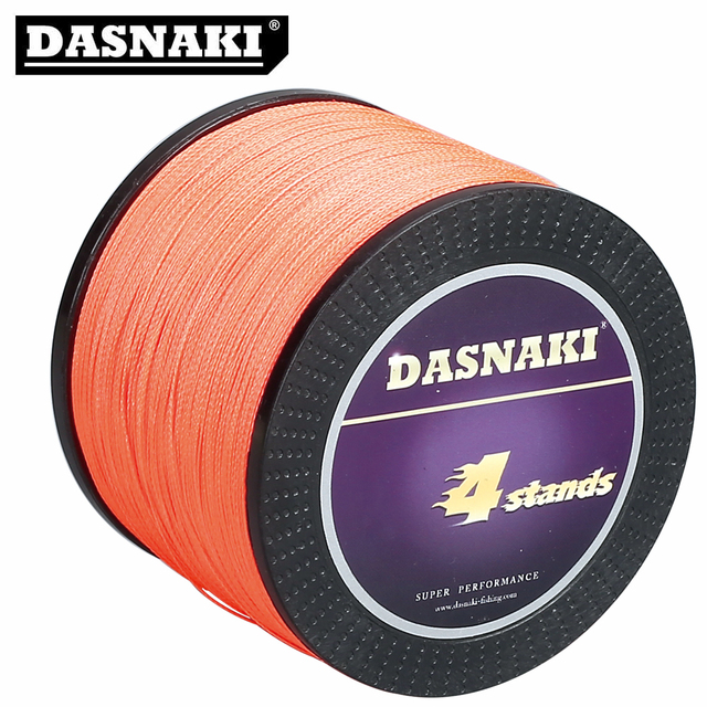 Braided 1000M 4 strands Fishing Line 100% import Japan material high strength Fishing lines multifilament line fishing
