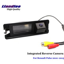Liandlee For Renault Pulse 2010~2015 Car Rearview Reverse Camera Rear View Backup Parking Camera / Integrated High Quality liandlee for hyundai fluidic verna 2010 2015 car rear reverse camera rear view backup parking camera integrated high quality