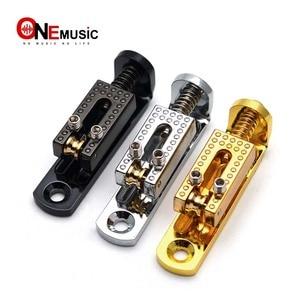 luxury Solo Single Guitar Roll Bridge w/ Wrench Screw for 3/4/5/6/7/8 String Guitar Cigar Box Banjo Parts