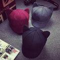 DT792 Corea Moda Gato Oído Tapa Octogonal de Las Mujeres Sólido llanura Lana Sentía Casquillo del vendedor de Periódicos del Otoño Invierno Artista Pintor Boina sombrero