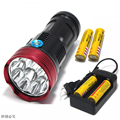 20000 lumens light King 10T6 LED flashlamp 10 x XM-L T6 LED Flashlight Torch Lamp Light For Hunting Camping