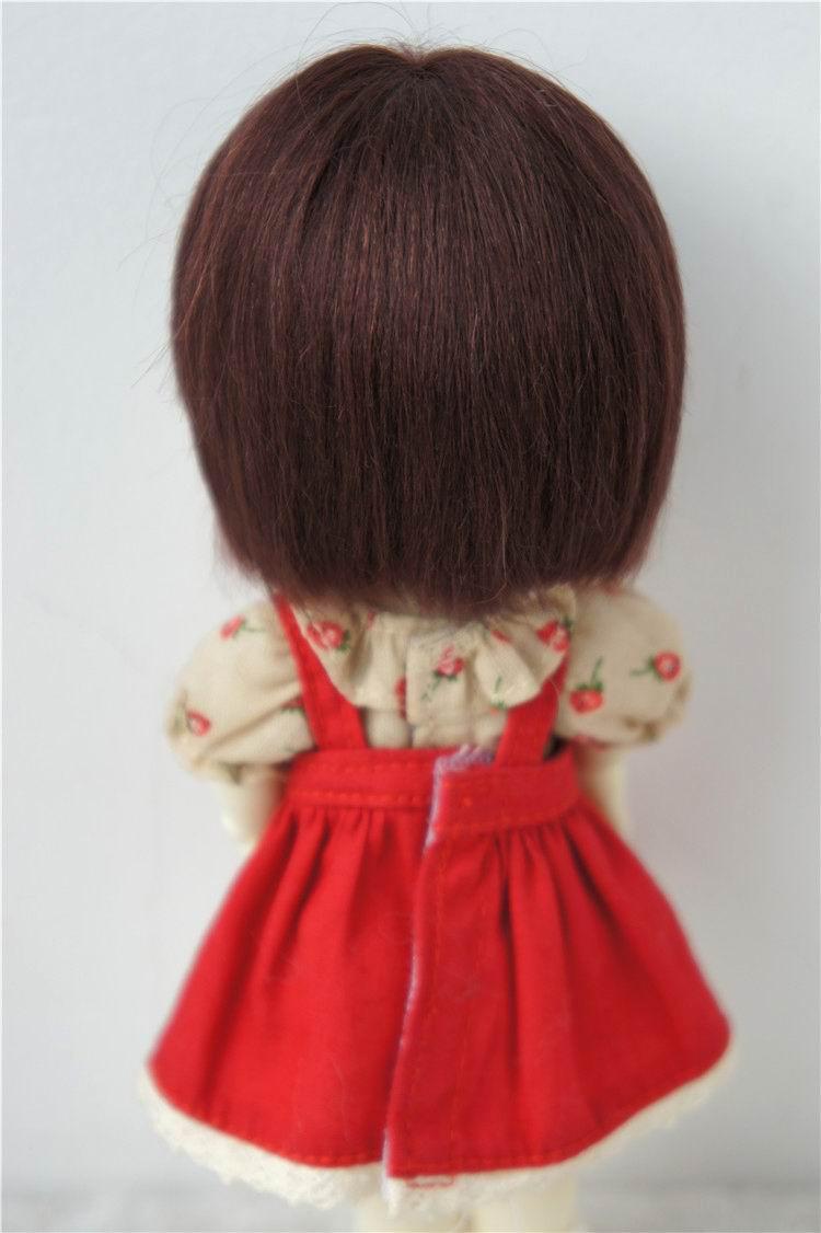 JD042 1/12 1/8 Қысқа кесу Mohair Doll шашты - Қуыршақтар мен керек-жарақтар - фото 5