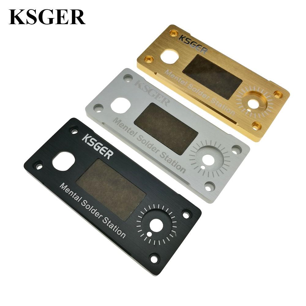 Original KSGER Soldering Iron Case Station T12 Tips Electronic Tools Welding Repair Phone DIY STM32 OLED Temperature Controller  Сварка