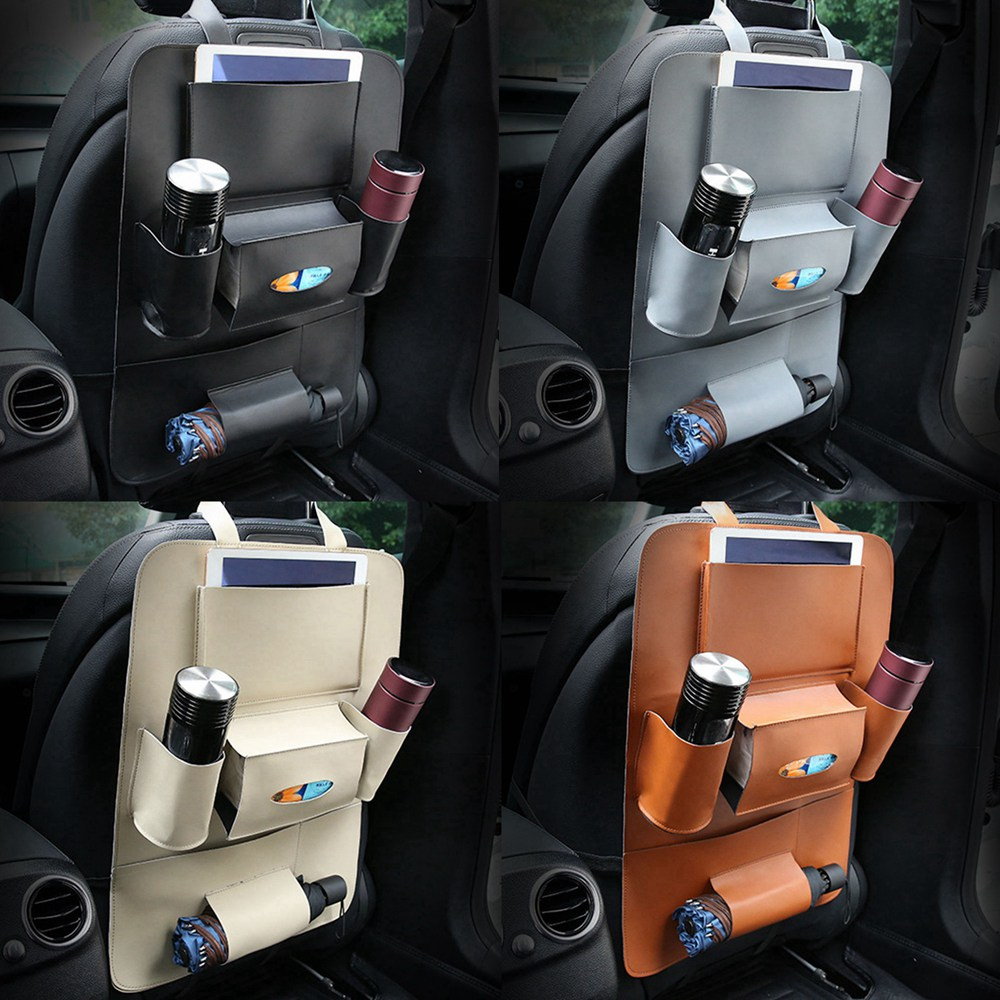 3fc6287d24 Waterproof Car Seat Organizer Bag Auto Back Seat Organizer Storage Box  Accessories for jeep renegade mercedes benz honda ford -in Stowing Tidying  from ...