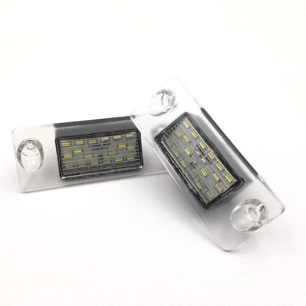 CYAN SOIL BAY number License Plate Light lamp 24SMD LED No Error For Audi A4 B8 S4 A5 S5 Q5 S TT quattro Error Free