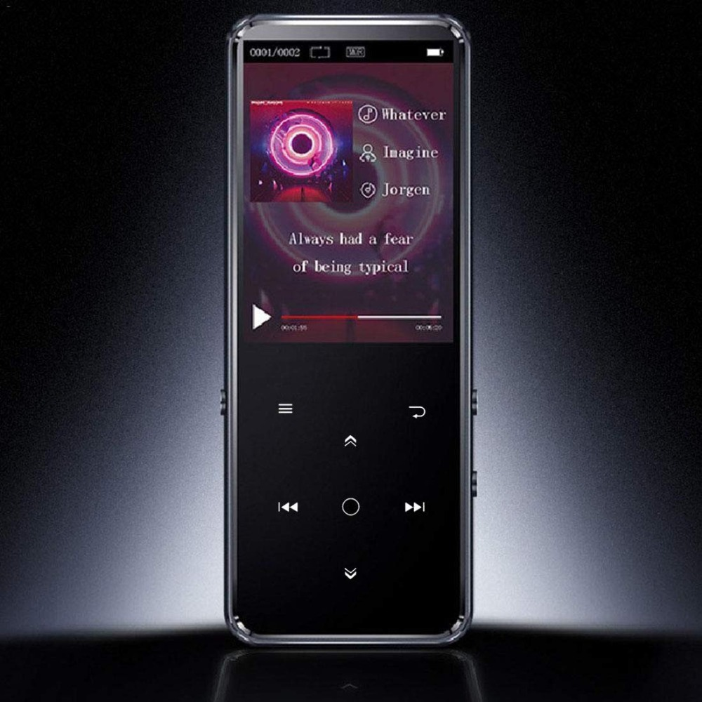 Music-Player MP3 Built-In-Speaker Touch-Key Color-Screen Bluetooth Lossless Fm/voice-Recorder title=