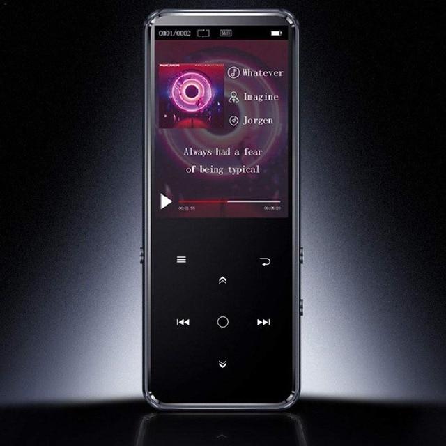 Bluetooth 5.0 MP3 מוסיקה נגן רמקול מובנה 16G מגע מפתח 2.4 אינץ TFT צבע מסך FM/מקליט קול lossless קול נגן