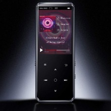Bluetooth 5.0 MP3 Music Player Built-in Speaker 16G Touch Ke