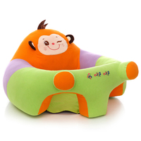 Baby Plush Seats Sofa PP Cotton Filling Infant Chair Support Seat Comfort Baby Learning Sit Belt Sofa For kids
