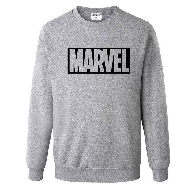 Новый супер герой толстовки с Marvel Мода хлопок Для мужчин толстовки Marvel Прохладный печатных кофты Для мужчин Костюмы Бесплатная доставка