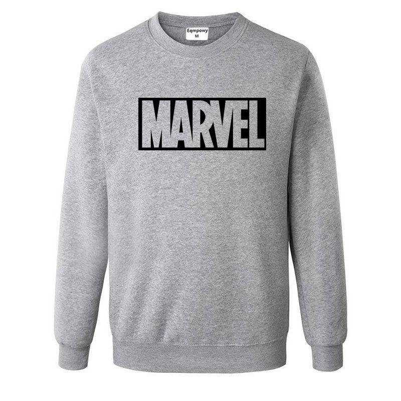 Nuevo Super héroe Marvel sudaderas moda hombres de algodón Hoodies Marvel impreso fresco sudaderas hombres ropa envío gratis