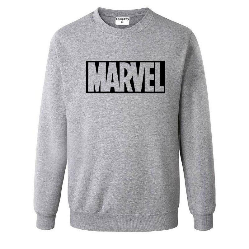 Nuevo super héroe Marvel sudaderas moda algodón hombres Sudaderas Marvel fresco impreso sudaderas hombres ropa envío gratis