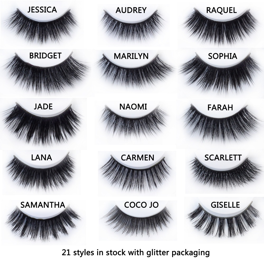 20 styles Visofree Mink Eyelashes Mink collection