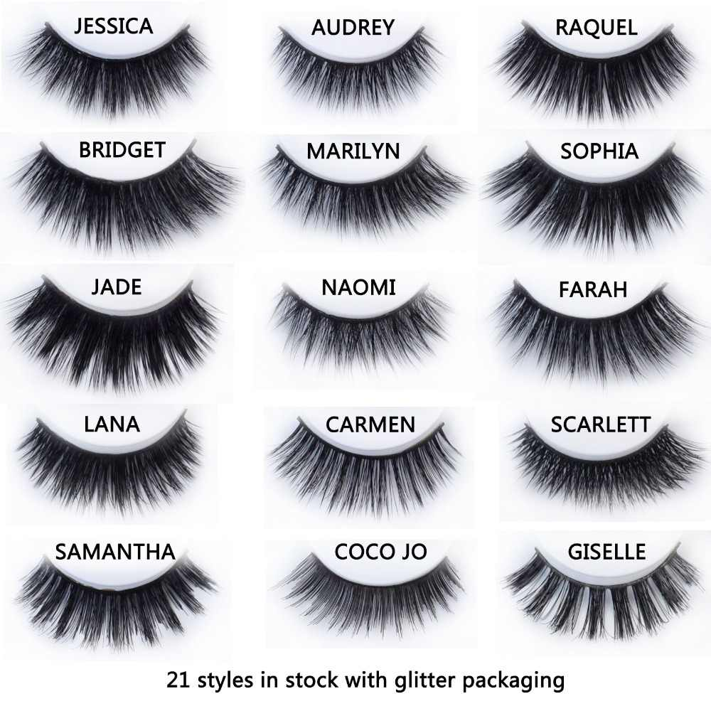 63672e970fd 20 styles Visofree Mink Eyelashes Mink collection 3D Dramatic Fake Eye  Lashes Makeup Mink EyeLashes