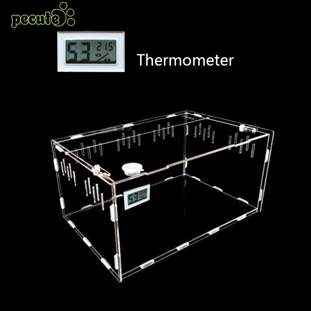 Acrylic Reptile Box Durable Insect Reptile Terrarium Practical Cold Blooded Animals Pet Box Climb The Box