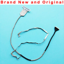 New original LCD LED LVDS CABO LVDS Vídeo Flex Cable para Lenovo Y580 Y580N QIWY4 DC02001F210 90200854 + 1920 HD * 1080