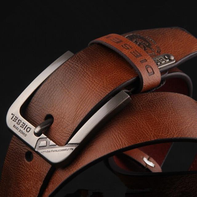 Mens Cinturones de Lujo de la Vaca Correa de Cuero Genuina Hombre 100% Correa Del Zurriago Cinturones de Diseño para Hombres