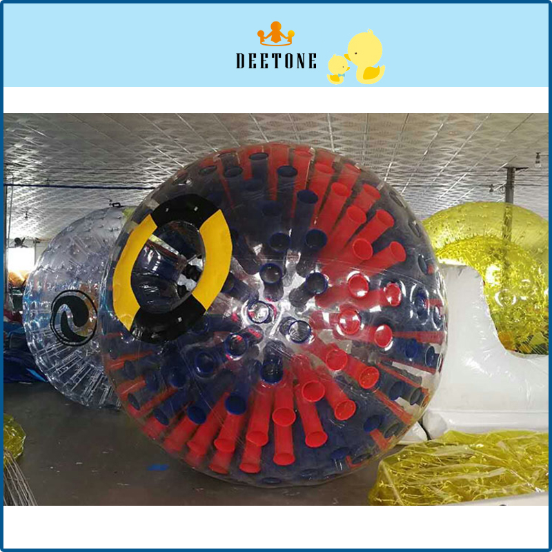 DEETONE 0.8mm PVC 3m Summer Outdoor Bubble Football Inflatable Human Hamster Ball Rolling Ball On Grass Bubble Soccer Zorb