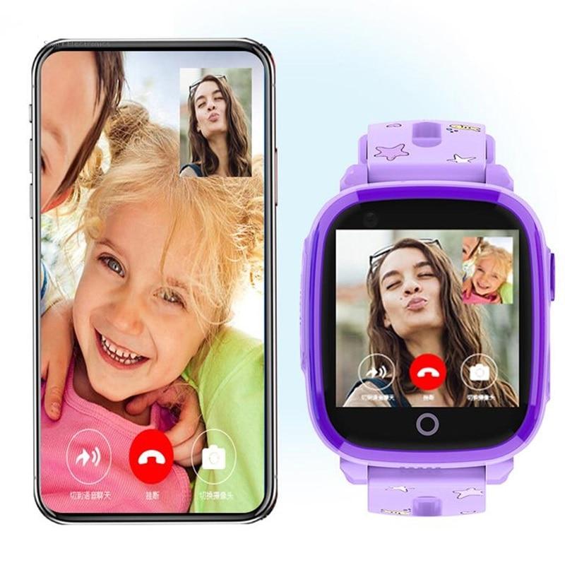 4G Smart Watch IP67 Waterproof Remote Camera GPS WI FI Kids Children Students Wristwatch SOS Video