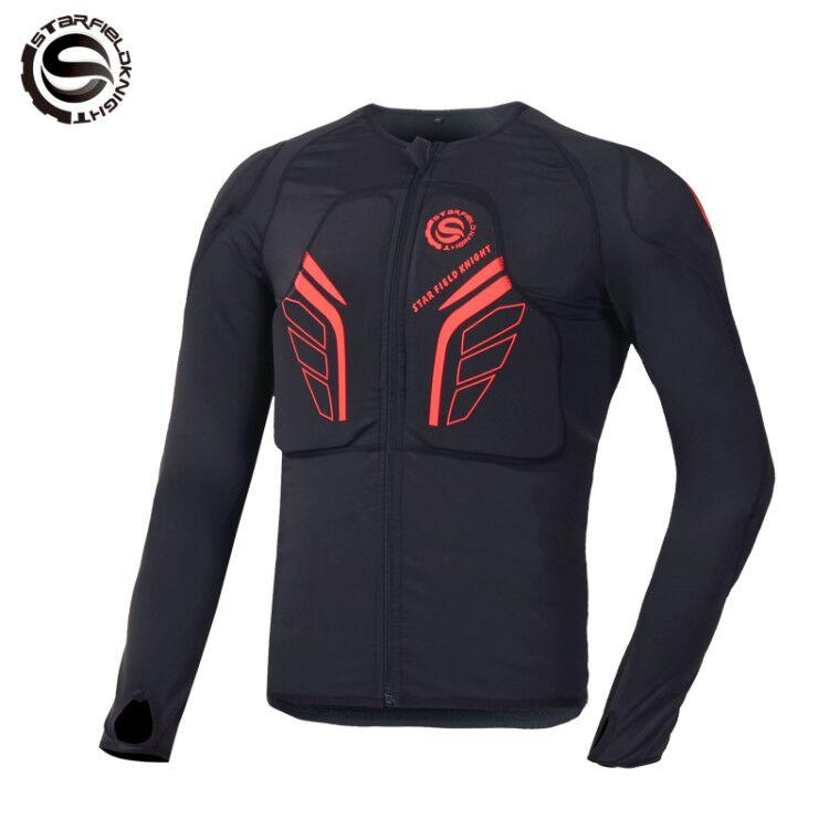Armure de moto vêtements anti-chute armure douce corps locomotive équipement de protection armure poitrine d'équitation et hommes et femmes saisons
