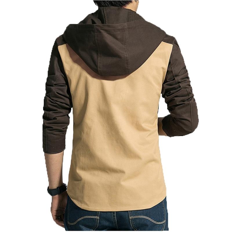 Herenjack 2017 lente nieuwe collectie toevallige hoodies jas heren - Herenkleding - Foto 4