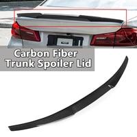 Новый настоящий карбоновый задний спойлер багажника крыло для BMW G30 520d 530i 540i 4 Двери Седан 2017 2018