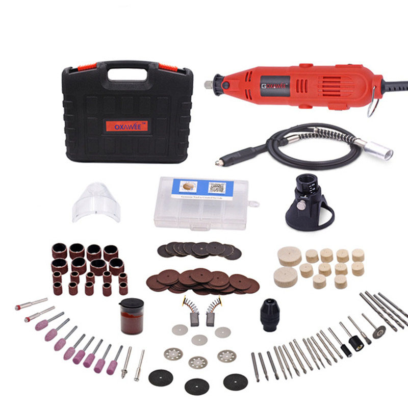 Mini Bohrer Bohrmaschine 220 V Variable Speed Dreh Werkzeug Mit Univrersal Chuck Power Werkzeuge Zubehör Für Dremel Mini Grinder