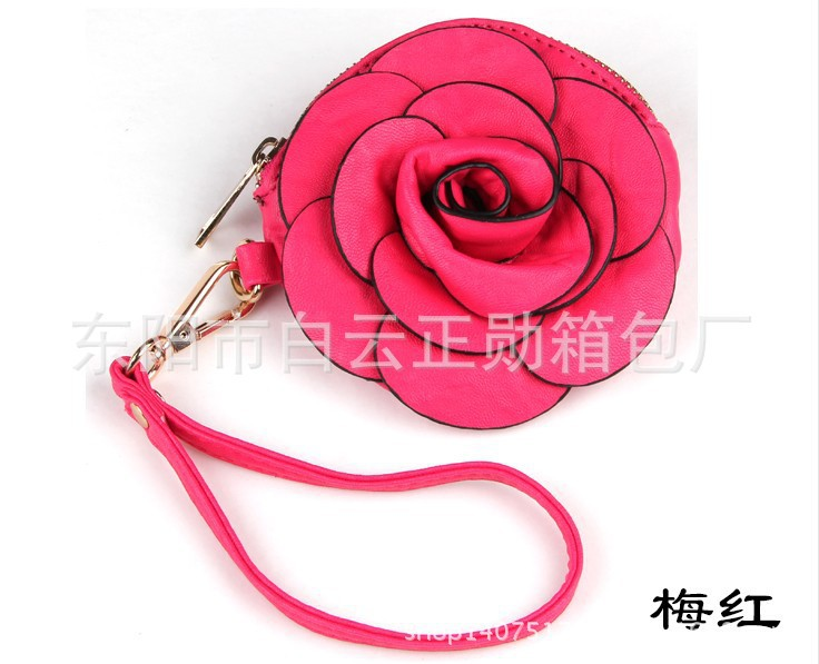 Women's Fashion Camellia Flower Rose Shaped