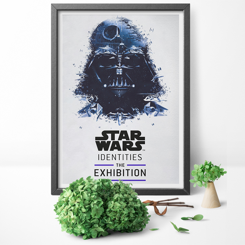 Star Wars Darth Vader Canvas Art Movie Poster Print Wall Art Canvas Painting Picture for Living Room Home Decor Framless